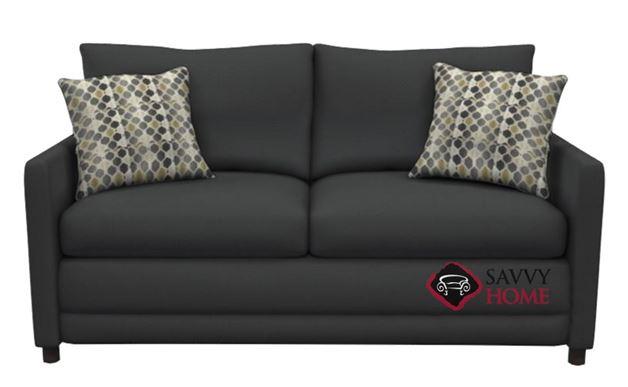 The 200 Full Sleeper Sofa by Stanton in Paradigm Smoke