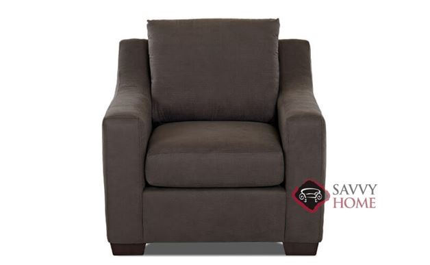 Alexandria Chair by Savvy in Halo Gunmetal