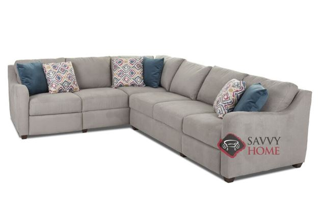 Glendale True Sectional Reclining Sofa by Savvy
