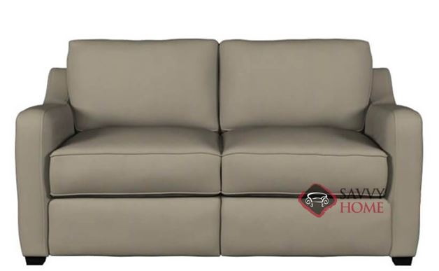 Glendale Leather Loveseat by Savvy