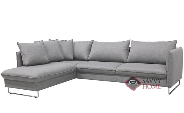 Flipper RAF Chaise Sectional Sofa by Luonto in Loule 413