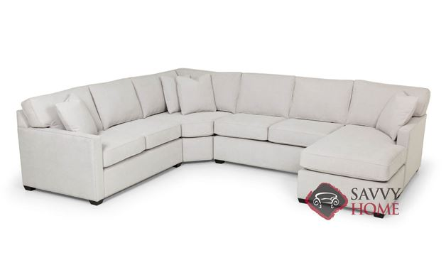 The 387 U-Shape True Sectional Queen Sofa Bed by Stanton