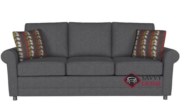 The 202 Queen Sleeper by Stanton in Jitterbug Gray