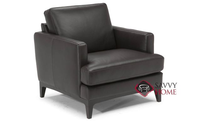 Bevera Leather Chair by Natuzzi Editions (B970-003)