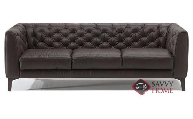 Magra Leather Sofa by Natuzzi Editions (B988-064)