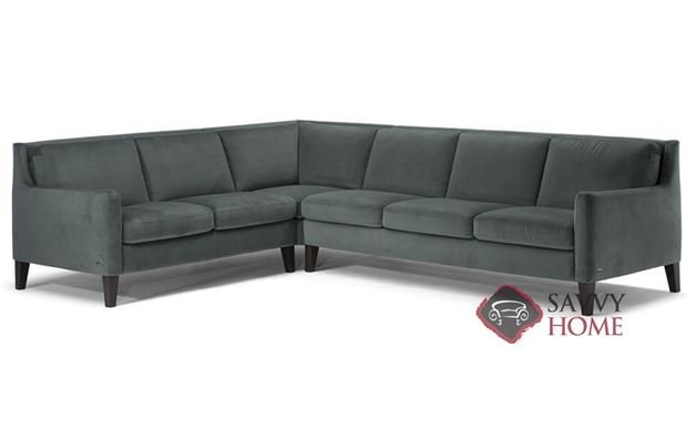 Livenza Leather True Sectional by Natuzzi Editions (C009-018/019/011/016/017)