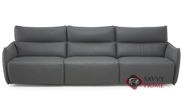 Amusa Power Reclining Leather Sofa by Natuzzi Editions (C027-450/338/452)