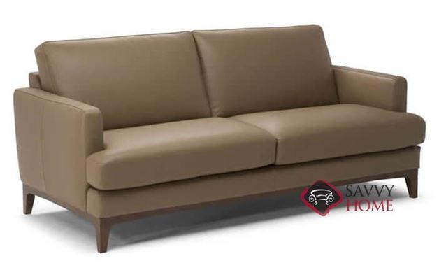 Bevera (B970-009) Leather Studio Sofa by Natuzzi Editions