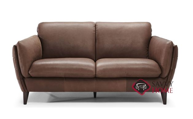 Limentra Leather Loveseat by Natuzzi Editions (B908-005)