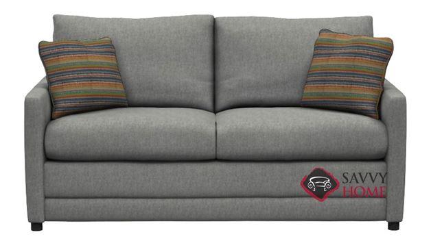 The 200 Full Sleeper Sofa by Stanton in Pinnacle Quartz