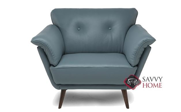 Gravina Leather Chair by Natuzzi Editions (C047-003)