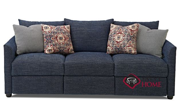 Aventura Power Reclining Sofa by Savvy in Curious Eclipse