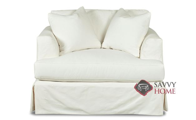 Berkeley Chair with Slipcover by Savvy