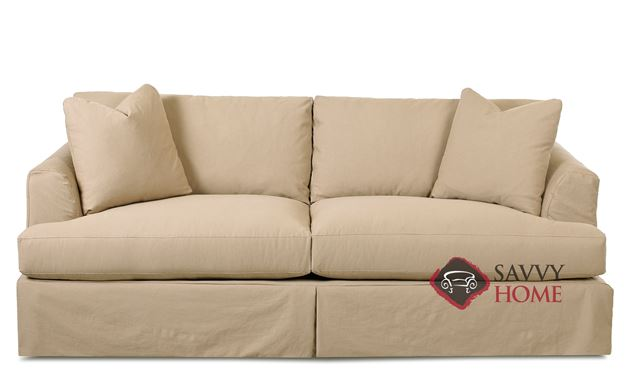 Berkeley Queen Sleeper Sofa with Slipcover by Savvy