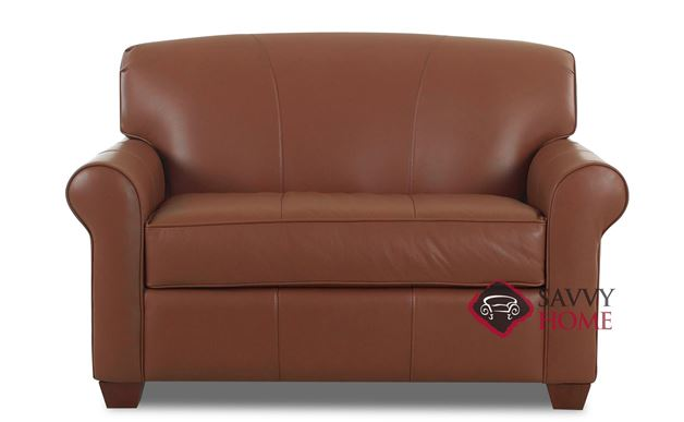 Calgary Leather Chair Sleeper Sofa