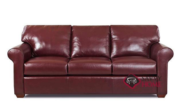 Cancun Queen Leather Sleeper Sofa
