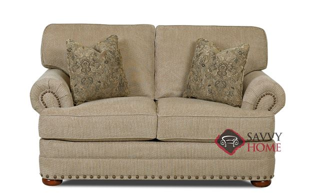 Carnation Loveseat by Savvy in Deluxe Platinum