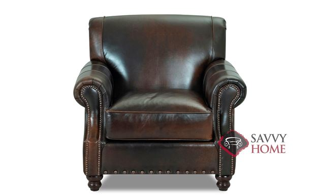 Fairbanks Leather Chair by Savvy