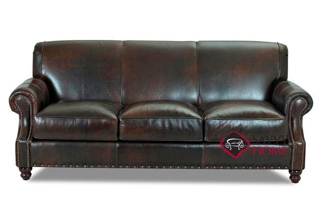 Fairbanks Leather Sofa by Savvy