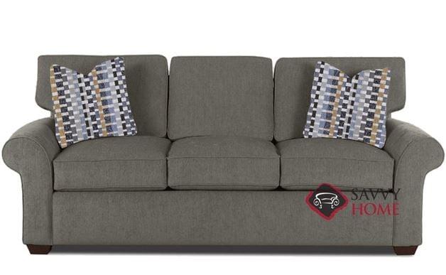 Beau Seattle Queen Sleeper Sofa In Kingkong Granite