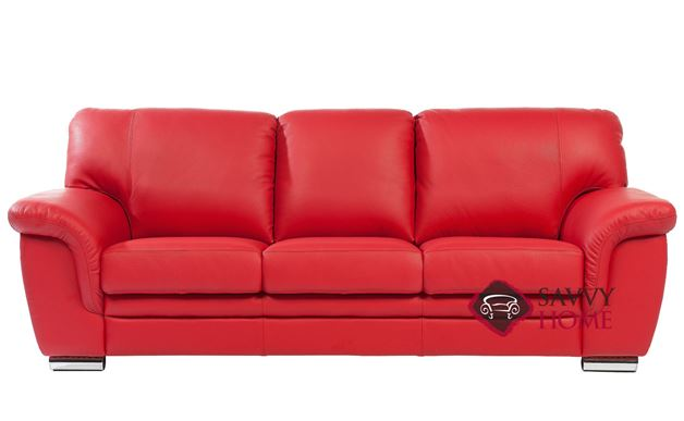 Ariel Leather Sofa by Luonto