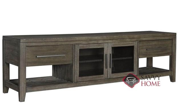 "Bravo 80"" Entertainment Console with 2 Drawers and 2 Doors by Palliser"