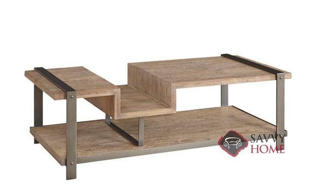 Hamlin Rectangular Cocktail Table with Wood Top by Palliser