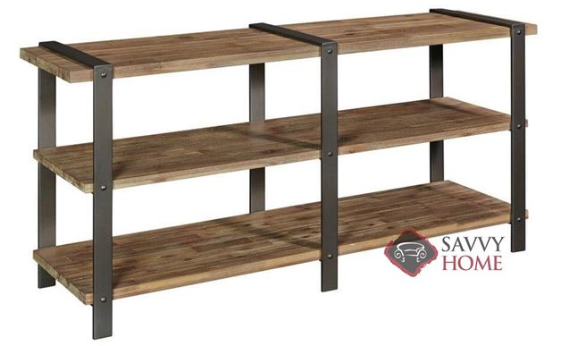 Hamlin Console Table with Wood Top by Palliser