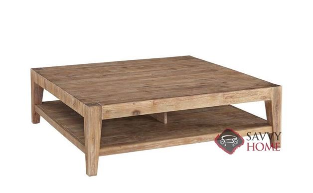 Kalahari Square Cocktail Table with Wood Top by Palliser