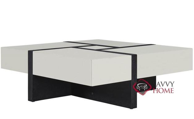 Emerson Square Cocktail Table with 4 Drawers by Palliser