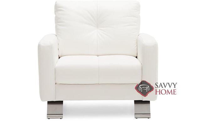 Ocean Drive Top-Grain Leather Arm Chair by Palliser