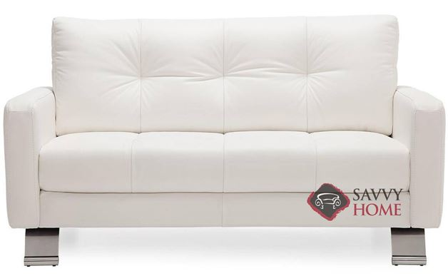 Ocean Drive Top-Grain Leather Loveseat by Palliser