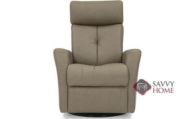 Prodigy II My Comfort Power Reclining Top-Grain Leather Chair with Power Headrest by Palliser