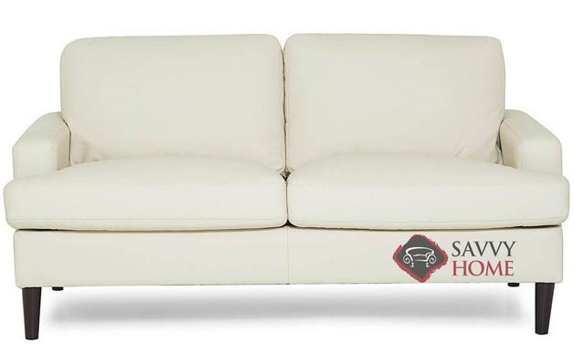 Remington Top-Grain Leather Loveseat by Palliser