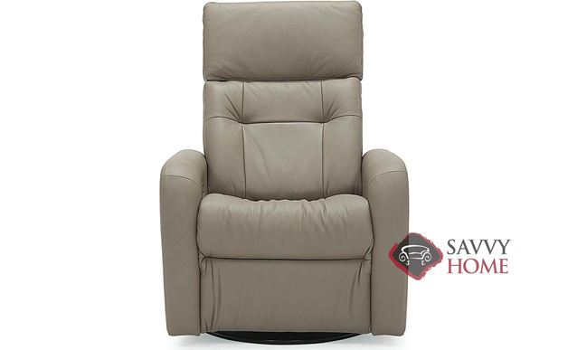 Sorrento II My Comfort Power Reclining Top-Grain Leather Chair with Power Headrest by Palliser