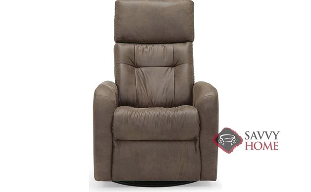 Sorrento My Comfort Power Reclining Top-Grain Leather Chair with Power Headrest by Palliser