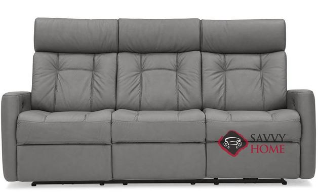 West Coast II Dual Reclining Top-Grain Leather Sofa with Power Headrest