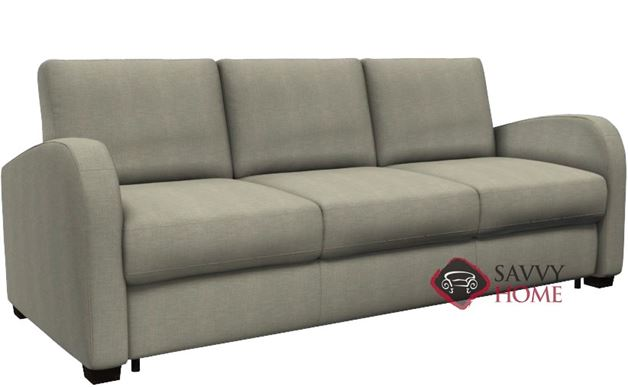 Daydream My Comfort 3-Cushion Queen Sleeper Sofa by Palliser in Key Largo Pumice