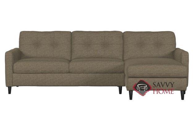 Beech Chaise Sectional Sofa by Palliser