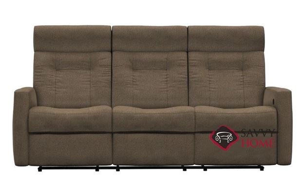 West Coast II Dual Power Reclining Sofa with Power Headrest by Palliser
