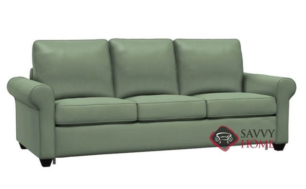 Swinden CloudZ Queen Top-Grain Leather Sleeper Sofa by Palliser