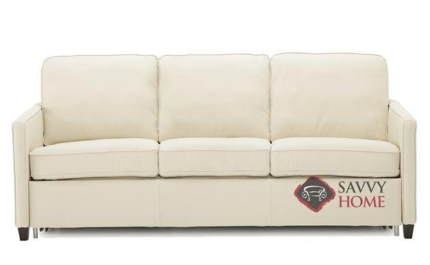 California CloudZ Queen Top-Grain Leather Sofa Bed