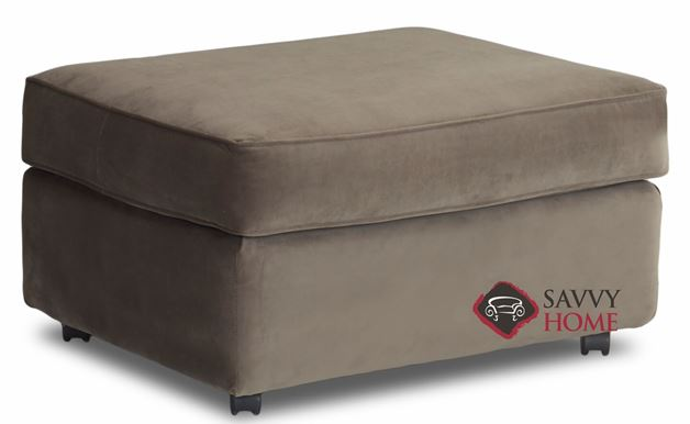 Fairview Ottoman by Savvy (Angled)