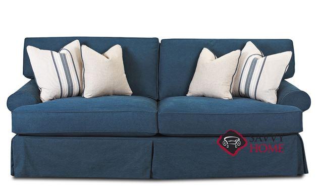 Lahaina Sofa by Savvy in Classic Wrangler