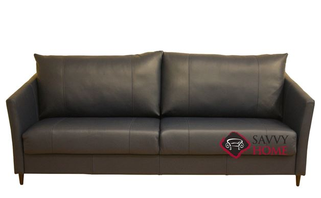 Erika King Leather Sofa Bed by Luonto