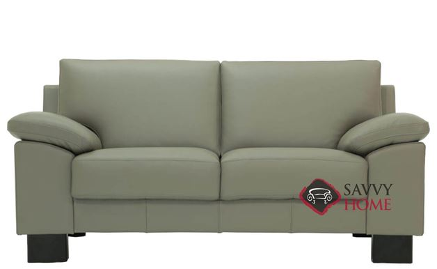 Poet Leather Loveseat by Luonto