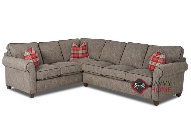 Leeds True Sectional Queen Sofa Bed by Savvy