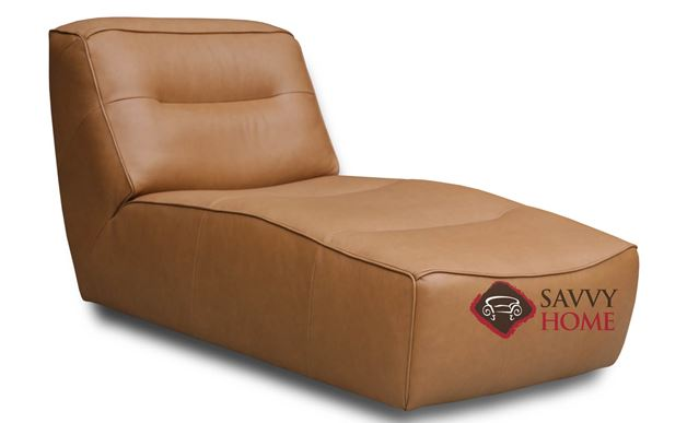 Arena Leather Chaise Lounge by Luonto