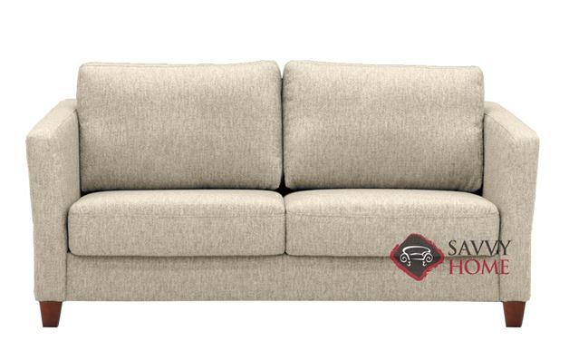 Monika Deluxe Queen Sofa Bed in Naomi 42 by Luonto