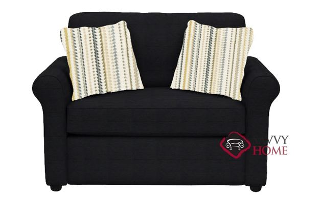 Ottawa Chair Sofa Bed by Savvy in Attire Charcoal
